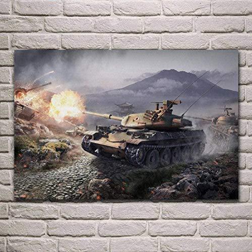 Fanxp Tanques Rompecabezas World of Tanks Rompecabezas de Madera Rompecabezas 1000 Piezas Cerebro Iq Desarrollando Rompecabezas Juegos Juguetes para niños Niños Adultos