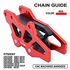 &#9733Fitment:HONDA CRF250R 2007-2019 CRF450R 2007-2019 CRF250X 2007-2017 CRF450X 2008-2019 CRF250RX 2019 CRF450RX 2018-2019 CRF450L 2019 &#9733QUANTITY:1*Chain Guard Guide.Instruction of Installation Is NOT Included. &#9733FUNCTION:Protect Chain Per...