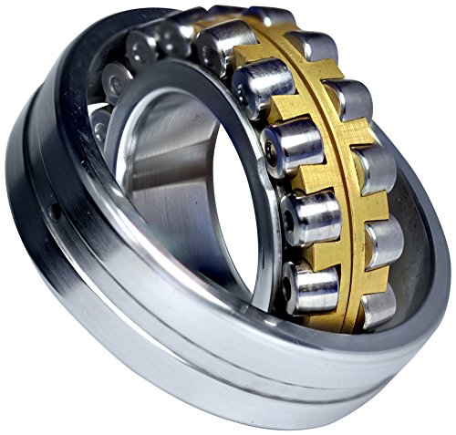 URB 23068 MC0W33 Spherical Roller Bearing, Machined Bronze Cage, W33 Oil Groove, 340 mm ID, 520 mm OD, 133 mm Width