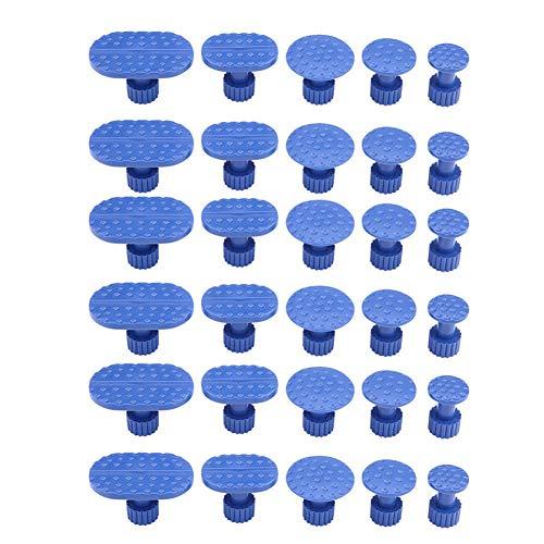 Gcroet 30 Teile/Satz Beruf Paintless Dent Repair PullerPlastic Kleber Laschen Paint Dent Repair Tool Auto Körper Dent Paintless Repair Auto Repair Tool