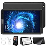 Tablet 8 Pulgadas - Google Android 10.0 Certificado por Google GMS, Quad Core 3 GB RAM 32GB ROM/128GB, 800 * 1280 IPS 5000mAh, WiFi, Bluetooth, GPS (Negro)