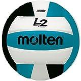Molten Premium Competition L2 - Balón de Voleibol, Color Negro/Aqua/Blanco,...