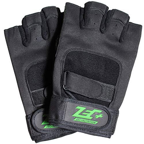 ZEC+ Herren Trainings Handschuhe Fitness in Schwarz Größe S