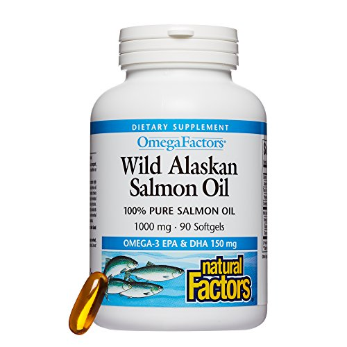 Wild Alaskan Salmon Oil (1000mg) 90 sgels