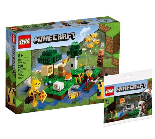 Collectix Lego Minecraft 30394 - Juego de figuras de Lego Minecraft (21165)
