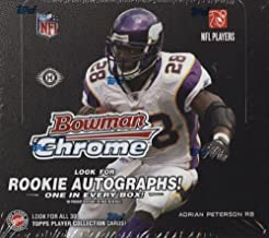 2008 Bowman Chrome Football Cards Unopened Hobby Box