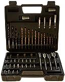 Oferta Kit Brocas com Maleta para Furadeira e Parafusadeira com 50 Acessórios, Multilaser, Preto, Pacote de 50 por R$ 99.9