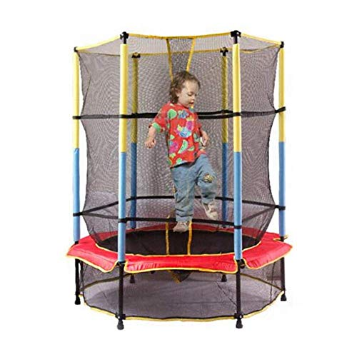 TBTBGXQ Kids Trampoline, Home Children Indoor 6Ft Trampoline with Protecting Wire Net And Thick Steel Pipe Household Jump Bed for Outdoor/Garden