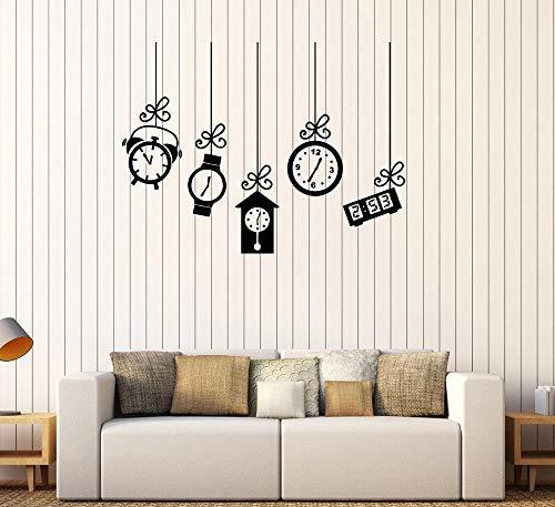 Tianpengyuanshuai wekker tafel wandtattoo klok slaapkamer woonkamer creatieve wooncultuur fantasie stickers muurschildering