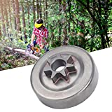 SALUTUYA Clutch Drum Sprocket Clutch Drum chain Needle bearing Fit Sprocket Cover Right Chainsaw Accessories for Husqvarna 41 Clutch Drum