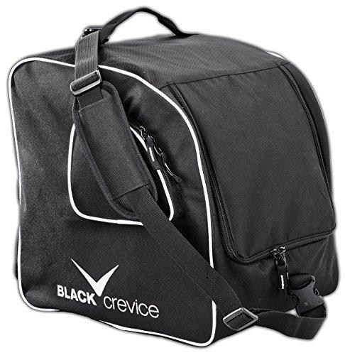 Black Crevice Unisex-Erwachsene Skischuhtasche, Schwarz mit Rucksackfunktion, 47 x 42 x 30 cm