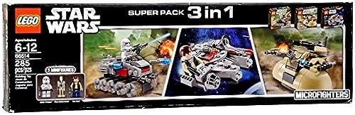 apresurado a ver LEGO Star Wars Super Pack 3 in 1 66514 66514 66514 by LEGO  precio mas barato