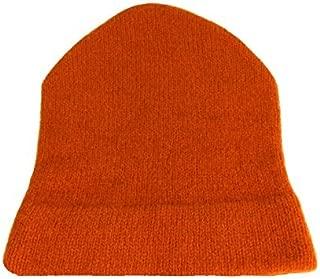 Dachstein Blaze Orange Hunter 100% Austrian Boiled Wool Watch Cap Safety Hat