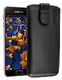 mumbi ECHT Ledertasche Samsung Galaxy A3 (2016) Tasche Leder Etui - Lasche mit Rückzugfunktion Ausziehhilfe (nicht für das Galaxy A3 - A300F von 2015)