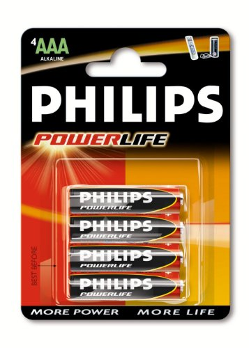 Philips Power Life Batterie AAA Micro 4er Pack