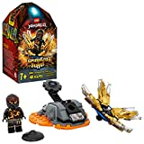 LEGO Ninjago 70685 Spinjitzu Burst Cole Spinner Negro (48 piezas)