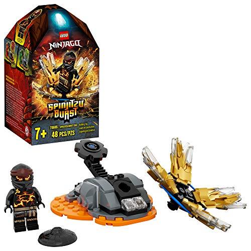 LEGO Ninjago 70685 Spinjitzu Burst Cole Spinner schwarz (48 Teile)