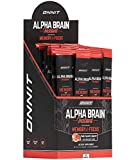ONNIT Alpha Brain Instant - Ruby Grapefruit Flavor - Nootropic Brain Booster Memory Supplement - Brain Support for Focus, Energy & Clarity - Alpha GPC Choline, Cats Claw, L-Theanine, Bacopa - 30ct