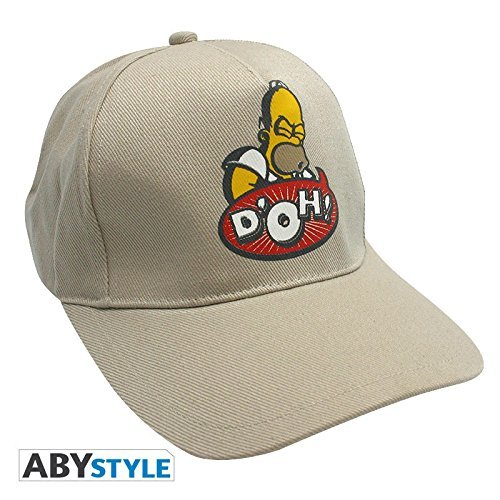 Abystyle - ABYCAP002 - Déguisement - Simpsons - Casquette - Homer Doh - Beige