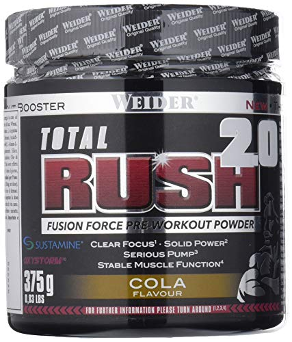 Weider Total Rush 2.0, Cola, 375 g