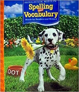 Houghton Mifflin Spelling and Vocabulary: Words for Readers and Writers, Grade 2