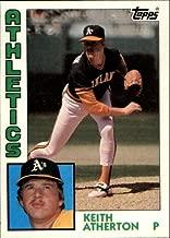 keith atherton baseball card