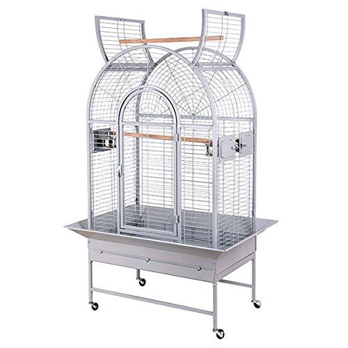 Montana Cages ® | Käfig New Jersey - in der Farbe Platinum die Voliere XL für Papageien
