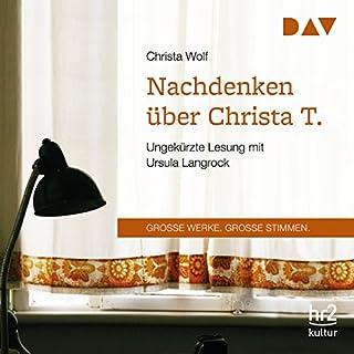Nachdenken über Christa T. Titelbild