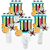 Big Dot of Happiness Scientist Lab - Mad Science Baby Shower or Birthday Party Centerpiece Sticks - Table Toppers - Set of 15