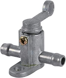 Inline ON/OFF Switch Petrol Gas Fuel Tap Petcock Valve, 8mm 5/16'' Fuel Tank Tap On/Off Petcock Switch for Motorcycle Dirt Bike ATV Quad Buggy