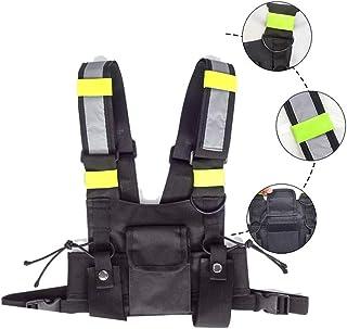 Men Women Shoulder Bags, Reflective Strip,Tactical Vest,Chest Rig Bag,Fashion Chest Rig Bag, Adjustable Crossbody Bags, Sh...