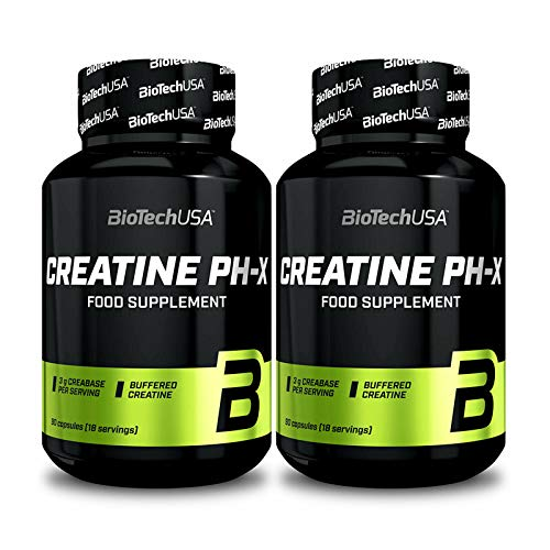 BIOTECH USA CREATINE PH-X | Buffered Creatine Monohydrate | Muscle Mass Growth | Bodybuilding Pills (2)