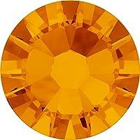 スワロフスキー ラインストーン #2058 (裏面フラットタイプ) タンジェリン ss9(2.5mm) 50粒入