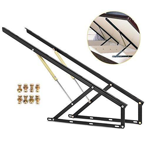 OldFe capacità da 60kg La Strutture Letto 120cm Il Kit di Sollevamento per Letto O Divano da 1.5x2m (B1200)