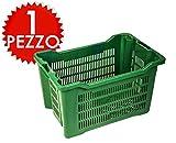 ICS Plastica 1 Cassetta agricola impilabile aperta per olive