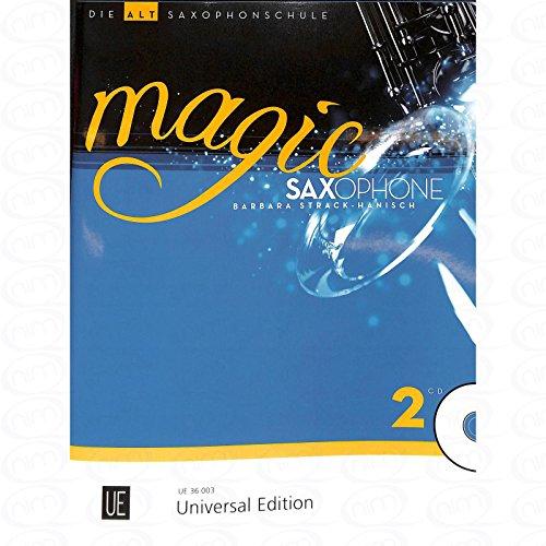Magic Saxophone 2 - arrangiert für Altsaxophon - (für ein bis zwei Instrumente) - mit CD [Noten/Sheetmusic] Komponist : Strack Hanisch Barbara