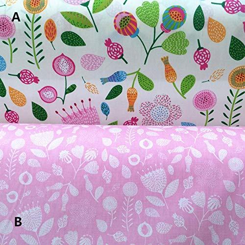 Zzxx 160cm * 50cm paardebloem gedrukt katoen stof beddengoed linnen kussen doek handwerk patchwork naaien stof