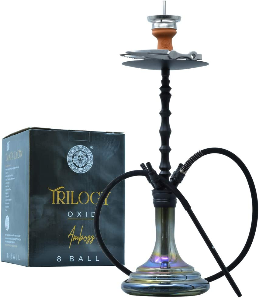 Complete Hookah Set - Glass Bowl Silic Max 79% OFF At the price of surprise Coals Tongs