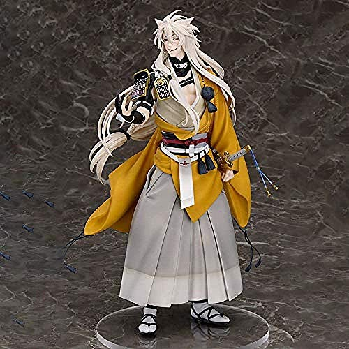 No Modelo Anime Figura Touken Ranbu Kogitsunemaru Modelo de Personaje PVC Figura Estatua Juguetes Decoración de Oficina 24cm-1227