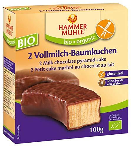 Hammermühle organic Bio BIO Vollmilch-Baumkuchenringe glutenfrei, 2 Stück (6 x 100 gr)
