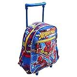 zaino Trolley Spiderman Uomo Ragno Marvel Borsa Scuola Asilo Bambino CM. 30 - 49016C