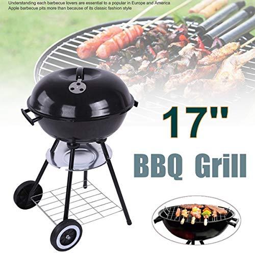 51zyQ+N9m8L - WZHZJ Metall-Holzkohle BBQ Grill Pit Outdoor-Camping-Kocher Garten Grill Werkzeuge Grillzubehör Kochen Werkzeuge Küchen