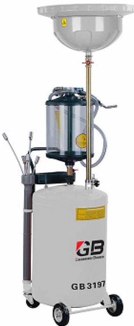 Aspirador recuperador de aceite usado noventa litros: Amazon.es ...