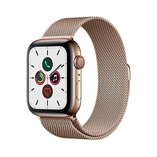 Apple Watch Series 5 (GPS + Cellular, 44 mm) Acero Inoxidabl