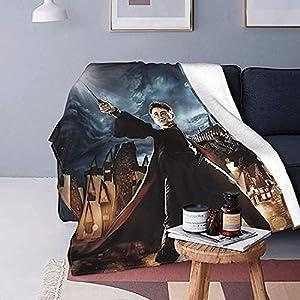 Harry Potter - Manta de microfibra ultrasuave, manta de franela para cama, sofá, campamento para todas las estaciones 18