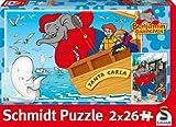 Schmidt Spiele - Puzzle con Marco Benjamin El Elefante, 26 Piezas (55278)