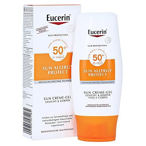 Eucerin Sun Allergie Gel 50+, 150 ml