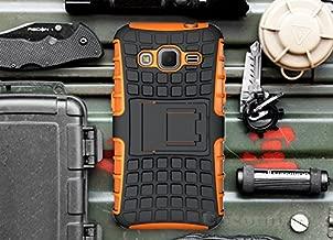 Cocomii Grenade Armor Galaxy Core Prime/Win 2/Prevail Case New [Heavy Duty] Tactical Grip Kickstand Shockproof Bumper [Military Defender] Full Body Cover for Samsung Galaxy Core Prime (G.Orange)