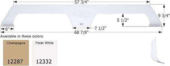 ICON Fender Skirt, Tandem, Gulf Stream, FS2287, Polar White