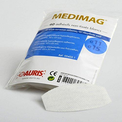 Transparante plakfolie voor Medimag 11 en 15 mm, 40 stuks